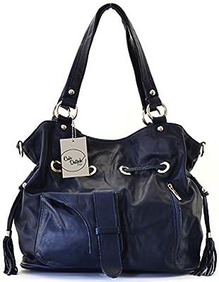 CUIR DESTOCK sac à main porté épaule et bandoulière cuir souple modèle g.kelly