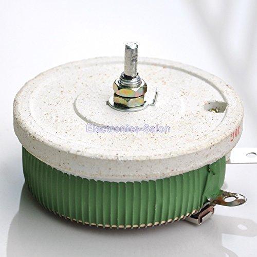 Electronics-Salon 200 W 100 Ohm High Power Wirewound Potentiometer, Rheostat, variable Widerstand.