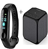 POPPEY M3 Smart Band Fitness Tracker Watch Heart Rate with Activity Tracker Waterproof