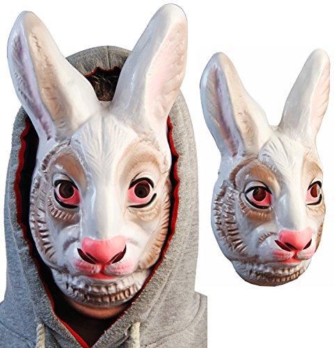 Coole Hasen Halloween Maske