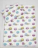 2 Piece Baby Kids Bedding Set 120x90cm Duvet Cover & Pillowcase for Toddler Cot