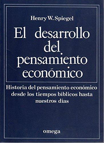 EL DESARROLLO DEL PENSAMIENTO ECONOMICO (TECNOLOGÍA-ECONOMÍA-SOCIOLOGÍA)