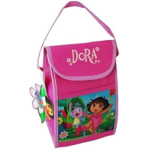 UPD Insulated Vertical Lunch Bag with Hangtag, Dora (Discontinued by Manufacturer) by UPD - Dora Lunch Bag