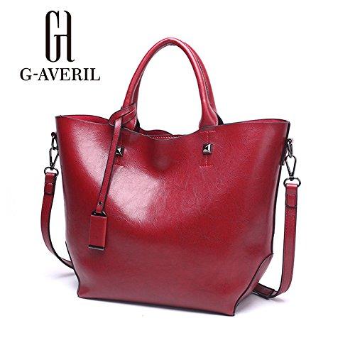G-AVERIL, Borsa a mano donna Red Wine Red Wine