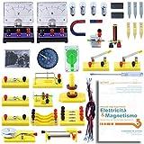 Teenii STEM Laboratorio di Fisica per Esperimenti con Circuiti di Base per L'apprendimento di Elettricità Magnetismo ed Elettronica Adatto per Bambini Studenti di Scuole Medie e Superiori Starter Kit