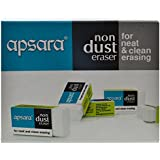 Apsara Non-Dust Eraser - Pack of 100