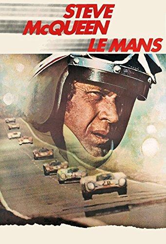 Steve McQueen Le Mans autorennen film blechschild Wohnzimmer Mcqueen