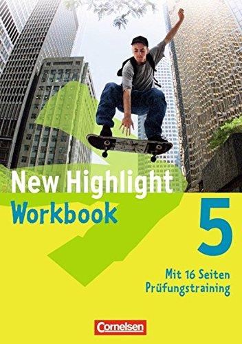 Preisvergleich Produktbild New Highlight - Allgemeine Ausgabe: Band 5: 9. Schuljahr - Workbook
