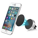 KFZ-Halterung für Lüftungsgitter Magnetisch Auto Telefonhalter Für iPhone 7 / 6S / 6 / 5S / 5 / SE, Galaxy S7 / S7 Edge / S6, Huawei, Nexus und mehr Smartphones PluieSoleil (Silber)