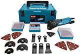 Makita TM3010CX2J 6000RPM 320W Black,Blue power multi-tool - Power Multi-Tools (68 mm, 87 mm, 283 mm, 1.6 kg, 230 V)