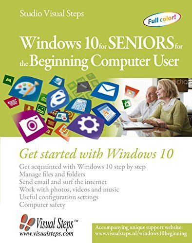 Windows 10 for Seniors for the Beginning Computer User: Get Started with Windows 10 (Computer Books for Seniors series) by Studio Visual Steps (2015-09-28)
