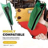 XSHH Flexible Oil Draining Tool, Flexible Fueling Long Funnel, Form-A-Funnel Oil Draining Tool Flexible Oil Funnel (L (50x20cm))