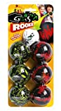 Crossboccia® Loud Doublepack Rookie Mini 2x3er Set für 2 Spieler, Mehrfarbig, 970839