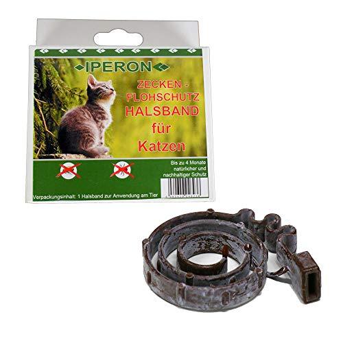 Lyra Pet Iperon Bio Flohhalsband Katze 38 cm Zeckenschutz Flohschutz Halsband
