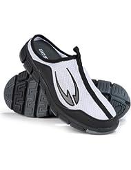 SallerRelax - Zuecos deportivos blanco blanco Talla:44
