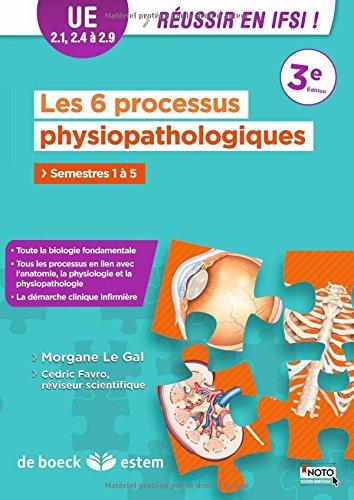Les 6 processus physiopathologiques : UE 2.1, 2.4 à 2.9 - semestres 1 à 5