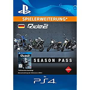 Ride 2 – Season Pass [PS4 Download Code – deutsches Konto]