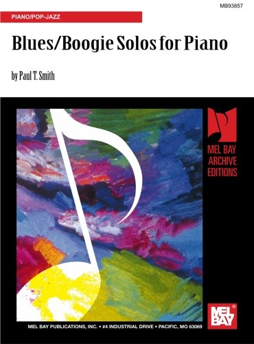 Blues/Boogie Solos for Piano: Piano/Pop-Jazz