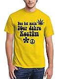 clothinx Herren T-Shirt Karneval Das ist Mein 70er Jahre Kostüm
