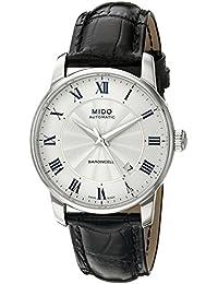 Mido Herren-Armbanduhr BARONCELLI Analog Automatik Leder M8600.4.21.4