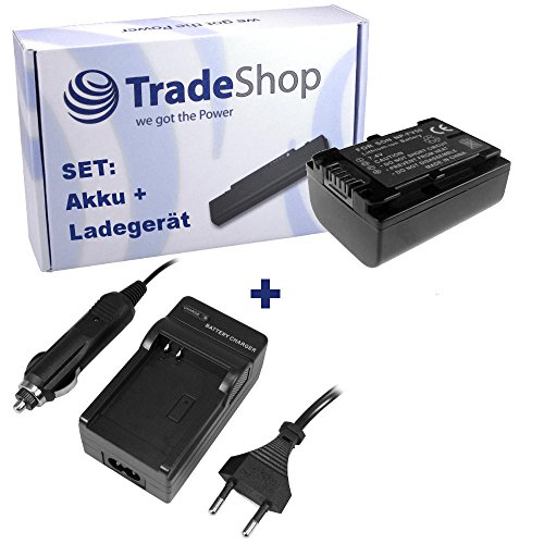 Angebot IM Set: Hochleistungs Kamera Li-Ion Akku + Akku Ladegerät mit Kfz Adapter ersetzt NP-FV30 NP-FV50 NP-FV70 NP-FV100 NP-FV-30 NP-FV-50 NP-FV-70 NP-FV-100 für Sony HDR TG1 TG5 TG5/E TG-1 TG-5 Np 1 Adapter