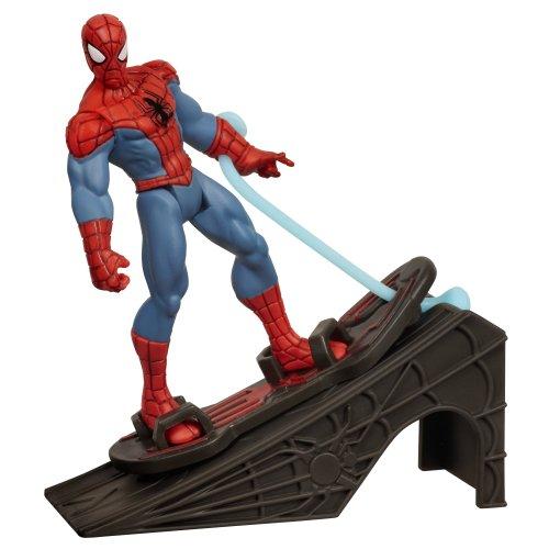 Ultimate Spider-Man Power Webs 3,75 Serie Actionfigur: Rocket Ramp Spider-Man
