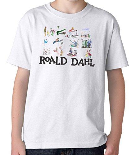 Platform9Co 2018 World Book Day Roald Dahl T-Shirt Children's Books Costume Ideas T Shirts Boys & Girls