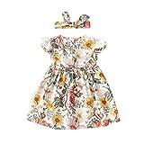 Pwtchenty Kleidung Baby Mädchen Kinder Plaid Rüschen Tanz Rock Rock Tutu Sommerkleider Kinderbekleidung Partykleid Babykleidung Freizeitkleidung Strandkleid