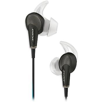 Bose QuietComfort 20 Cuffie intra-auricolari con riduzione del rumore - Samsung e Android, Nero