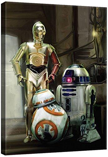 Delester Design PPD1934O1 Bild, Star Wars VII Das Erwachen der Macht, mehrfarbig, 100,0 x 3,0 x 75,0 cm