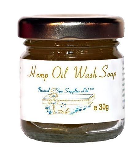 British Naturally Anti-Bacterial Hemp Oil Face & Body Wash Soap