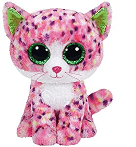 TY - Beanie Boos Sophie, peluche gato, 15 cm, color rosa (United Labels Ibérica 36189TY)