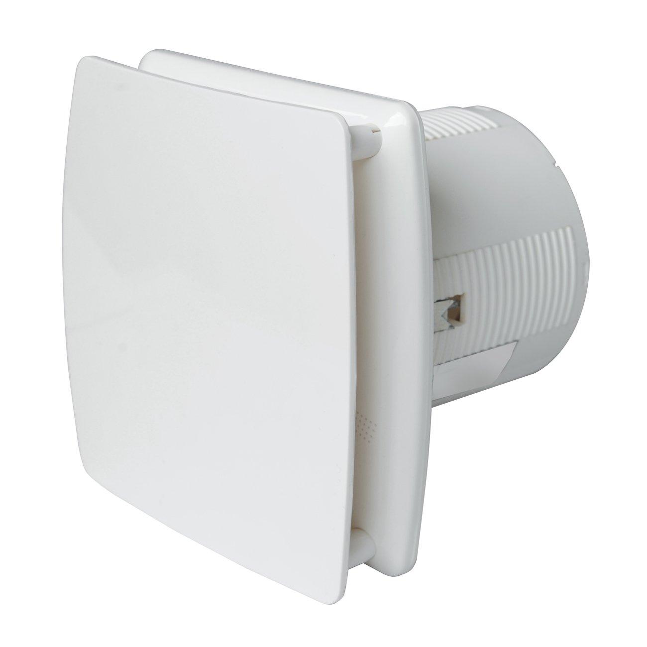 La Ventilazione AA10B Aspiratore Elicoidale Estetico Bianco, per Foro diametro 100 mm / 4