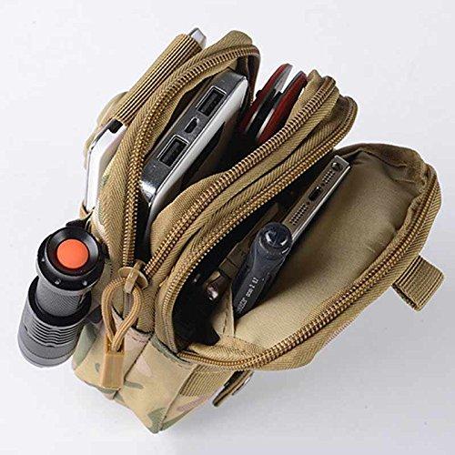 Rokoo Wasserdichte Männer Taktische Münze Geldbörse Lässige Taille Fanny Packs 5.5inch Mobile Beutel Tasche #8