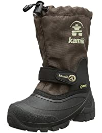 Kamik Waterbug5G - Botas de nieve, talla: 38, color: Morado, marrón - Braun (dark brown DBR), 29/30