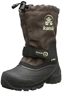 Kamik Unisex Kids' WATERBUG5G Warm Lined Half-Shaft Boots and Ankle Boots Brown Size: UK 2.5