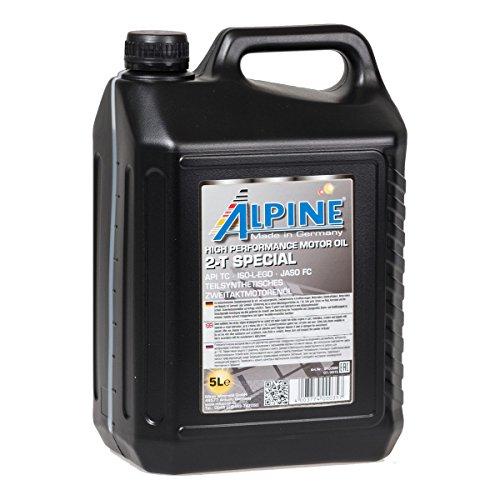 Alpine 2T Zwei-takt-öl teilsynthetisch selbstmischend 5Liter (Öl-system 2)