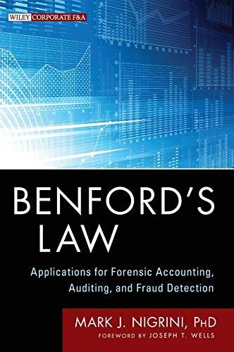 Benford's Law (Wiley Corporate F&A) por Mark J. Nigrini