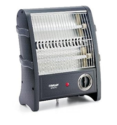 Eveready QH800 800-Watt Room Heater (Black)