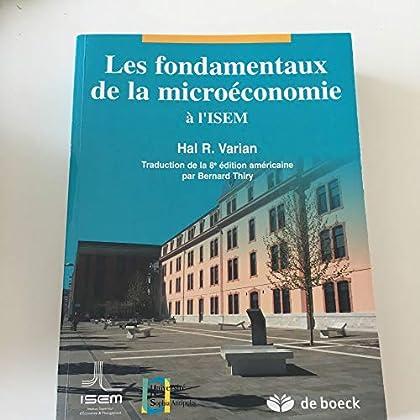 Fondamentaux de la microeconomie a l'isem