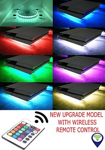RGB USB Diseño Enfriador Ventilador De Refrigeración Pad y mini mando Soporte PS4 Playstation 4 Xbox One 360