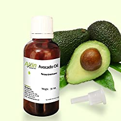 Allin Exporters Avocado Oil 30 Ml 100% Natural Moisturizer For Hair, Face & Skin Rich In Retinol & Vitamin E To Reduce Wrinkles & Dryness