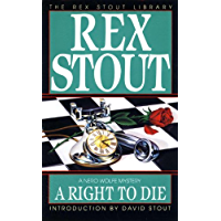 A Right to Die (A Nero Wolfe Mystery Book 40) (English Edition)