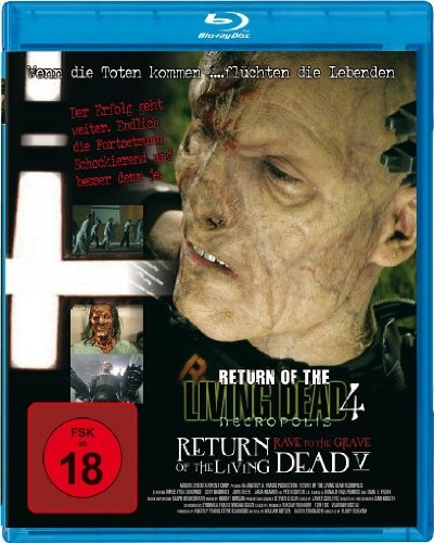Return of the Living Dead 4+5 [Blu-ray]