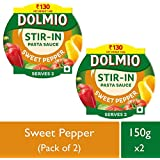 Dolmio Pasta Sauce Sweet Pepper,Stir In (Pack Of 2), 2 * 150gm