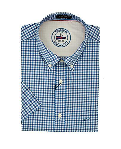 Paul & shark camicia, mezza manica, regolar, 41 cm