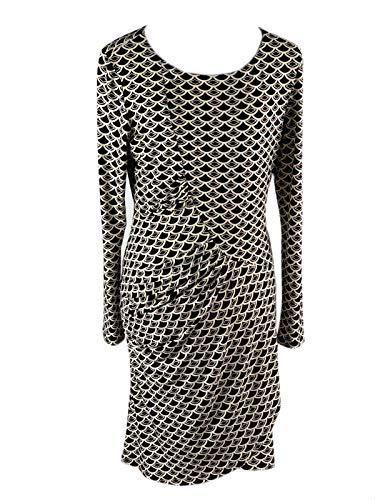 Joseph Ribkoff Women's Pencil Dress multi-coloured Black/Cream
