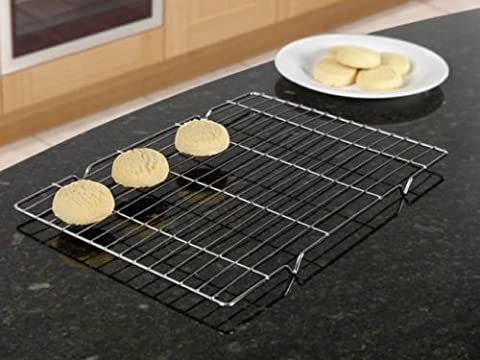 Stainless Steel Baking Tray Cooling Rack (L40cm x W23 cm) - Swan household ®