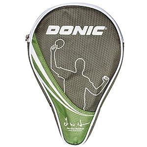 Donic-Schildkröt Tischtennis Schlägerhülle Waldner, Schlägerhülle für einen Schläger, extra Ballfach für 3 Bälle, 818537