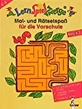 LernSpielZwerge, Mal- und Rätselblock für die Vorschule, Block.2 (LernSpielZwerge - Mal- und Rätselblocks)